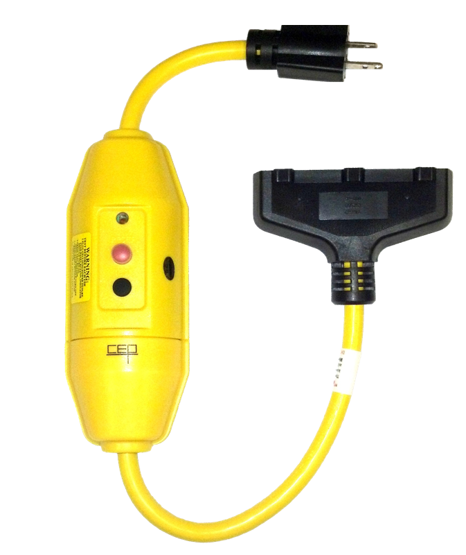 gfci extension cords and adapters archives construction electrical rh cepnow com Ground Fault Circuit Tester