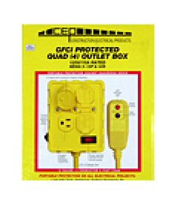 Duplex/Quad GFCI Extension Cords